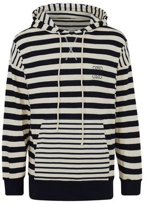 Loewe Striped hooded sweatshirt