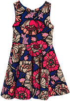 Rare Editions Sleeveless Floral Skater Dress - Preschool Girls 4-6x