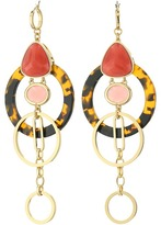 Kate Spade Sun Kissed Sparkle Statement Earrings