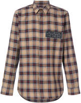 Givenchy checked shirt