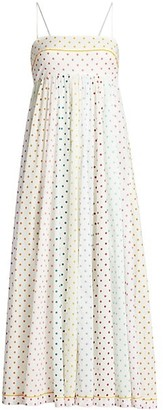 Zimmermann Bellitude Polka Dot Bandeau Dress