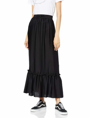 Find. Amazon Brand Women's Peplum Maxi Skirt