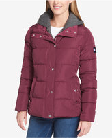 Tommy Hilfiger Fleece-Hood Puffer Coat