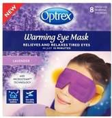 Optrex Warming Lavender Eye mask 8 Single Uses
