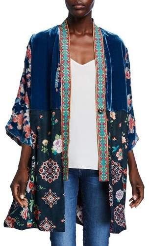 bcbc5a112 Velvet Kimono - ShopStyle