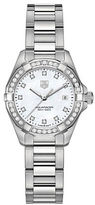 Tag Heuer Ladies Aquaracer Stainless Steel and Diamond Watch