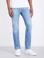 Armani Jeans J45 slim-fit tapered jeans
