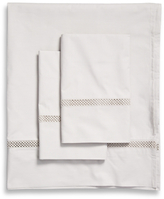 Percale Lace Sheet Set