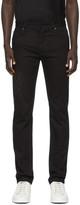 Fendi Black Faded Forever Slim Jeans