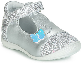 GBB MERCA girls's Shoes (Pumps / Ballerinas) in Silver