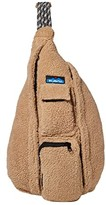 Kavu Rope Fleece (Driftwood) Cross Body Handbags