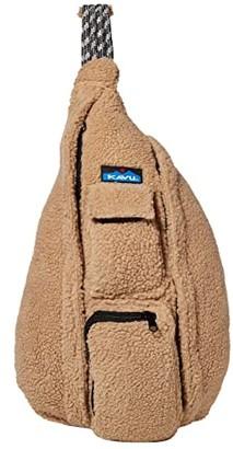 Kavu Rope Fleece (Driftwood) Cross Body Handbags