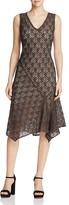 Nic+Zoe Graphic Lace Dress