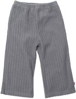Zutano Waffle Cozie Fleece Pants (Toddler) - Pool-2T