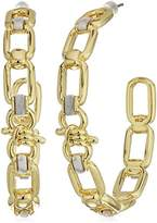 Danielle Nicole Newport Hoop Earrings