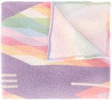 The Elder Statesman geometric printed scarf