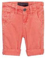 Toobydoo Red Cargo Shorts (Baby, Toddler, & Little Boys)