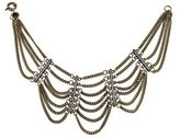 Giles Crystal Multistrand Necklace
