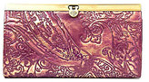 Patricia Nash Metallic Overdye Collection Cauchy Wallet
