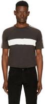Wales Bonner Black George Stripe T-shirt