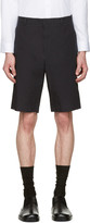 Jil Sander Blue Cotton Shorts