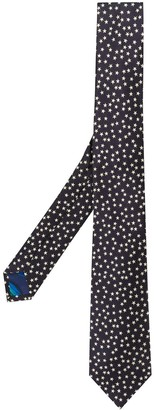 Paul Smith Star Embroidered Tie