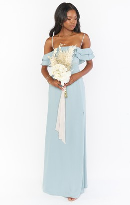 Show Me Your Mumu Emma Ruffle Maxi Dress