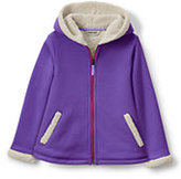 Classic Girls Aline Sherpa Hoodie-Zesty Orange