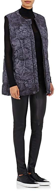 The North Face WOMEN'S ABSTRACT-PRINT HEXAGON-QUILTED PUFFER VEST