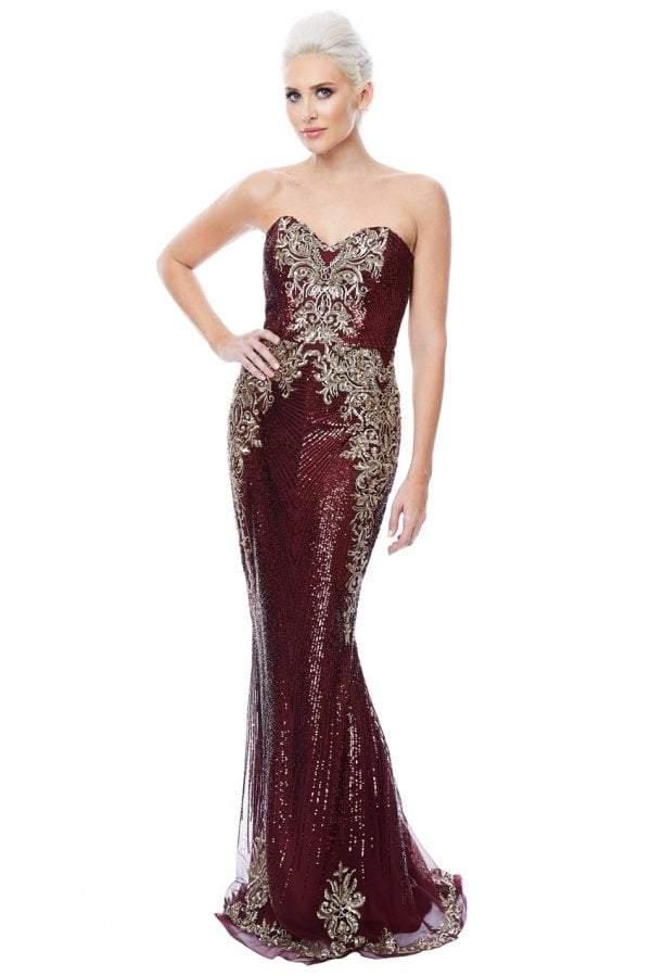 2f8c6aa3 Wine Maxi Dress - ShopStyle UK
