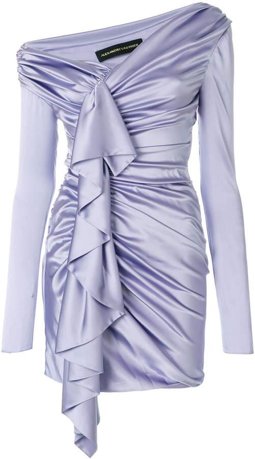 Alexandre Vauthier gathered asymmetric dress