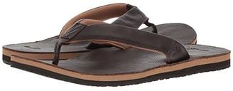 Sanuk John Doe 2 (Dark Brown) Men's Sandals