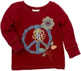 Mimi & Maggie Folk Flower Tee (Toddler & Little Girls)
