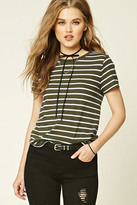 Forever 21 FOREVER 21+ Striped Knit Tee