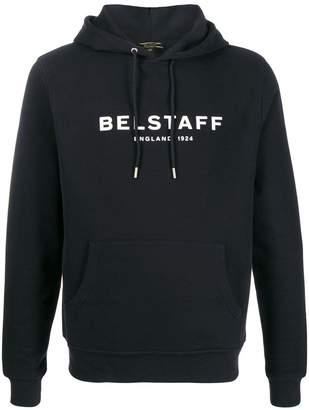 Belstaff logo print hoodie