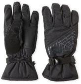 Spyder Black Transcend Ski Gloves