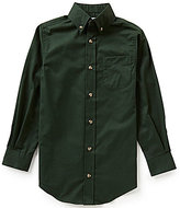 Class Club Big Boys 8-20 Solid Button-Front Shirt