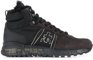 Premiata White Jeff Var high-top sneakers