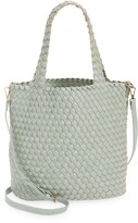 Thumbnail for your product : Mali & Lili Ray Convertible Woven Vegan Leather Tote