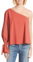 Tanya Taylor Women's Anka Voile One-Shoulder Top