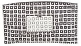 Reed Krakoff Printed Atlantique Pouch w/ Tags