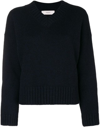 Pringle loose V-neck sweater