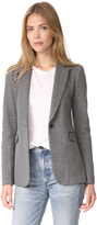 Alice + Olivia Macey Fitted Notch Collar Blazer