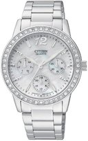 Citizen Women's ED8090-53D Analog Display Japanese Quartz Silver Watch