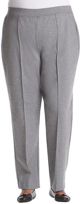 Alfred Dunner Women's Plus Size Med Knit Pant