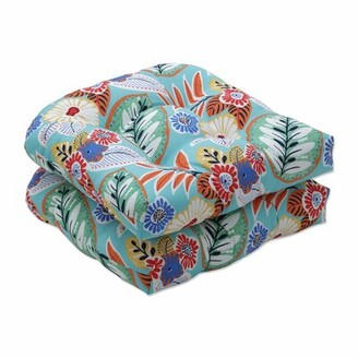 Canora Grey Marlow Aqua Indoor/Outdoor Seat Cushion