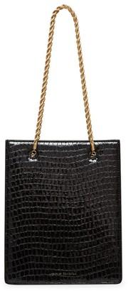 Loeffler Randall Antoinette Croc-Embossed Leather Shopper Tote