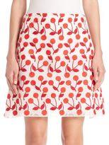 Giamba Cherry-Print Skirt