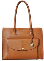 MICHAEL Michael Kors Mercer Extra Large Pocket Tote (Luggage) Tote Handbags