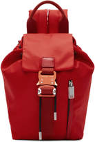 1017 Alyx 9sm 1017 Alyx 9SM Red Baby-X Backpack